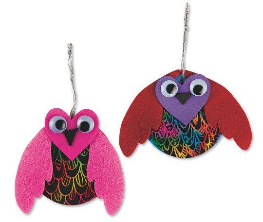 heart crafts owl valentines day