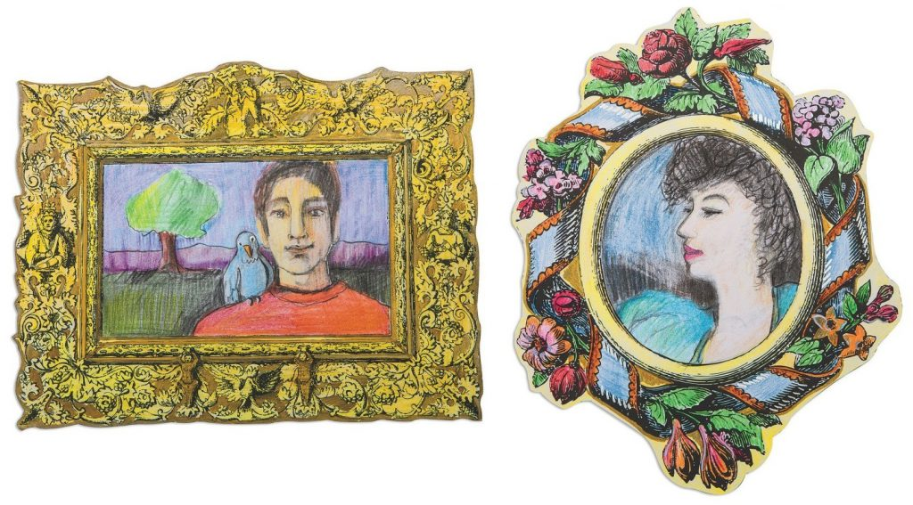 historical art frames craft