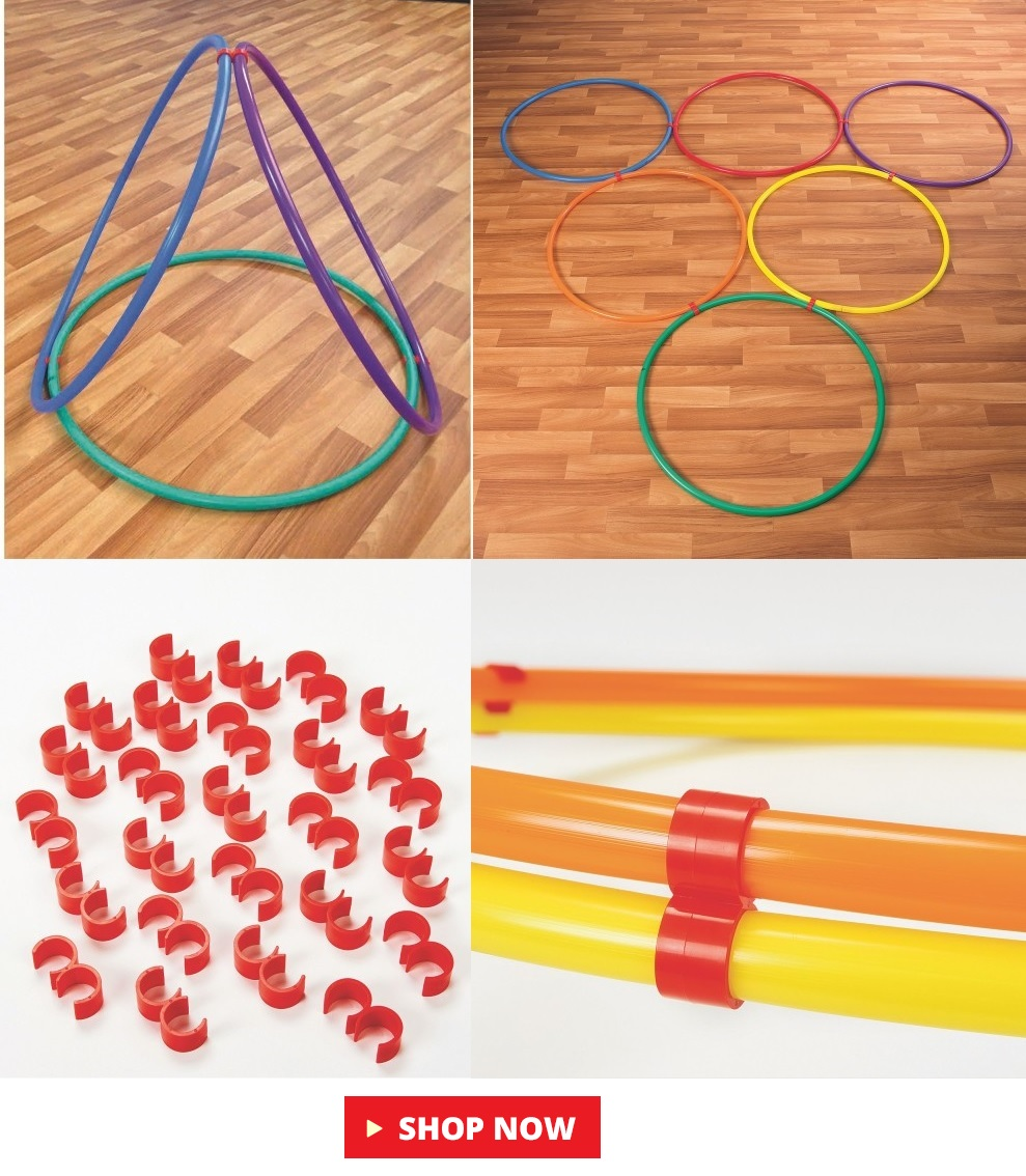 hop clips for keeping hula hoops together