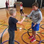 Hoop Hop Showdown – Rock Paper Scissors Hula Hoop Activity
