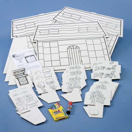 house diorama supplies