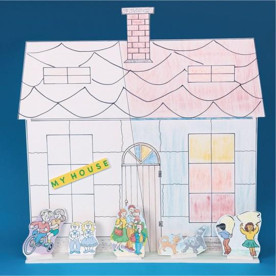 house diorama