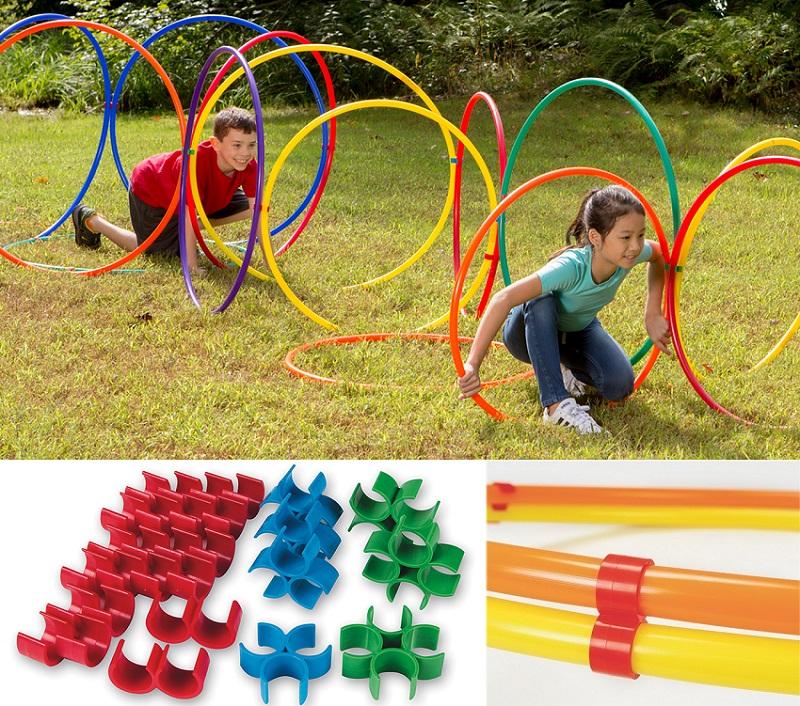 hula hoop activities for PE
