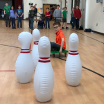 Human Bowling Activity for Physical Education