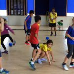 Human Frogger Activity for Physical Education