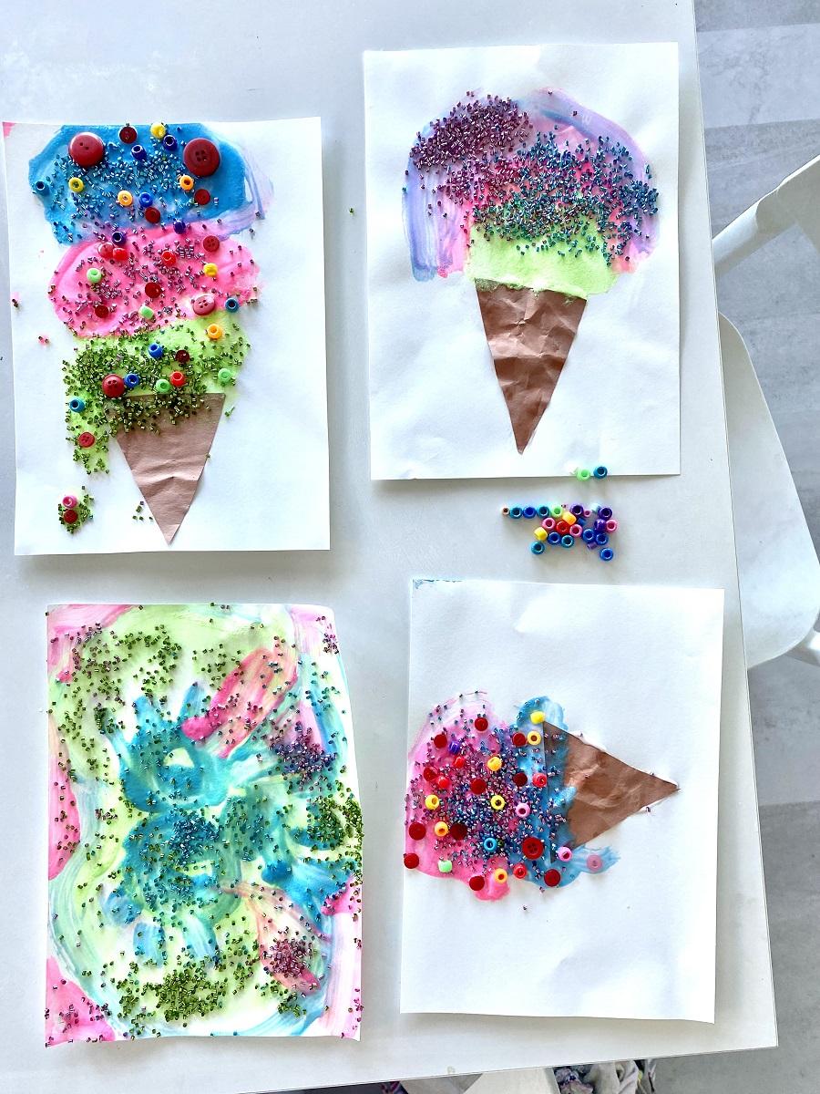 ice cream craft toddlers
