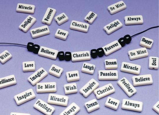 inspirational beads