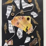 Jazz Themed Process Art – Paper Craft Activity