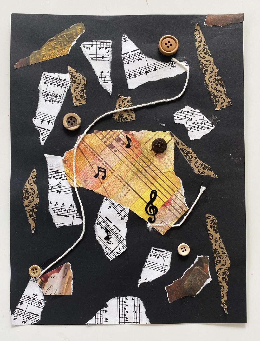 jazz art theme