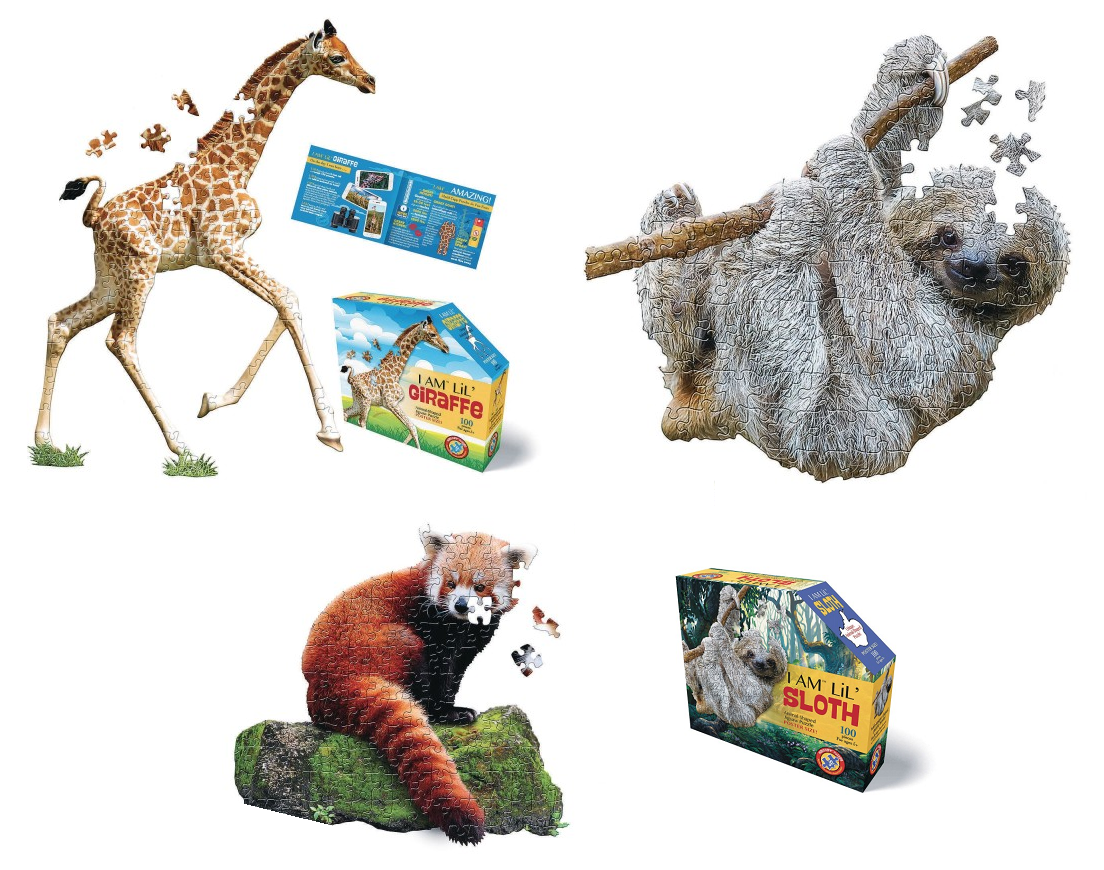 jungle themed puzzles