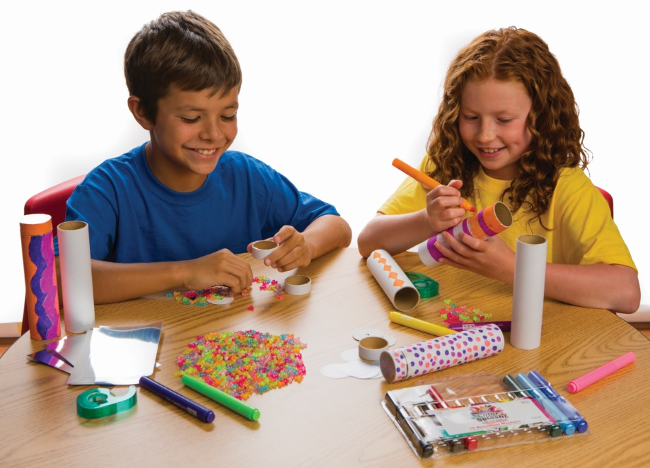 kaleidoscope craft activity