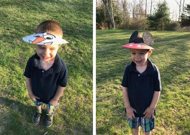 kids visors craft