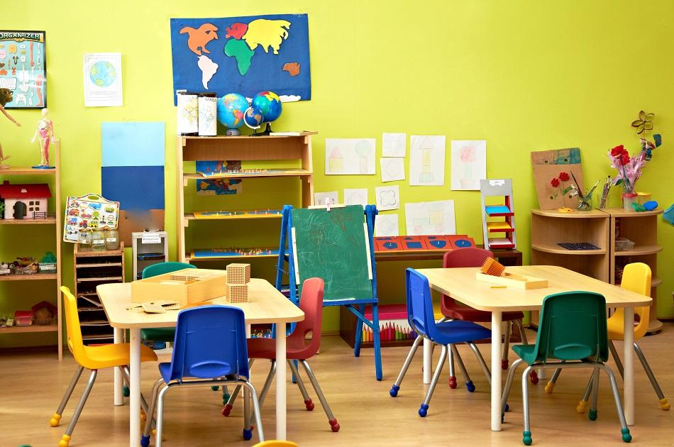 kindergarten classroon