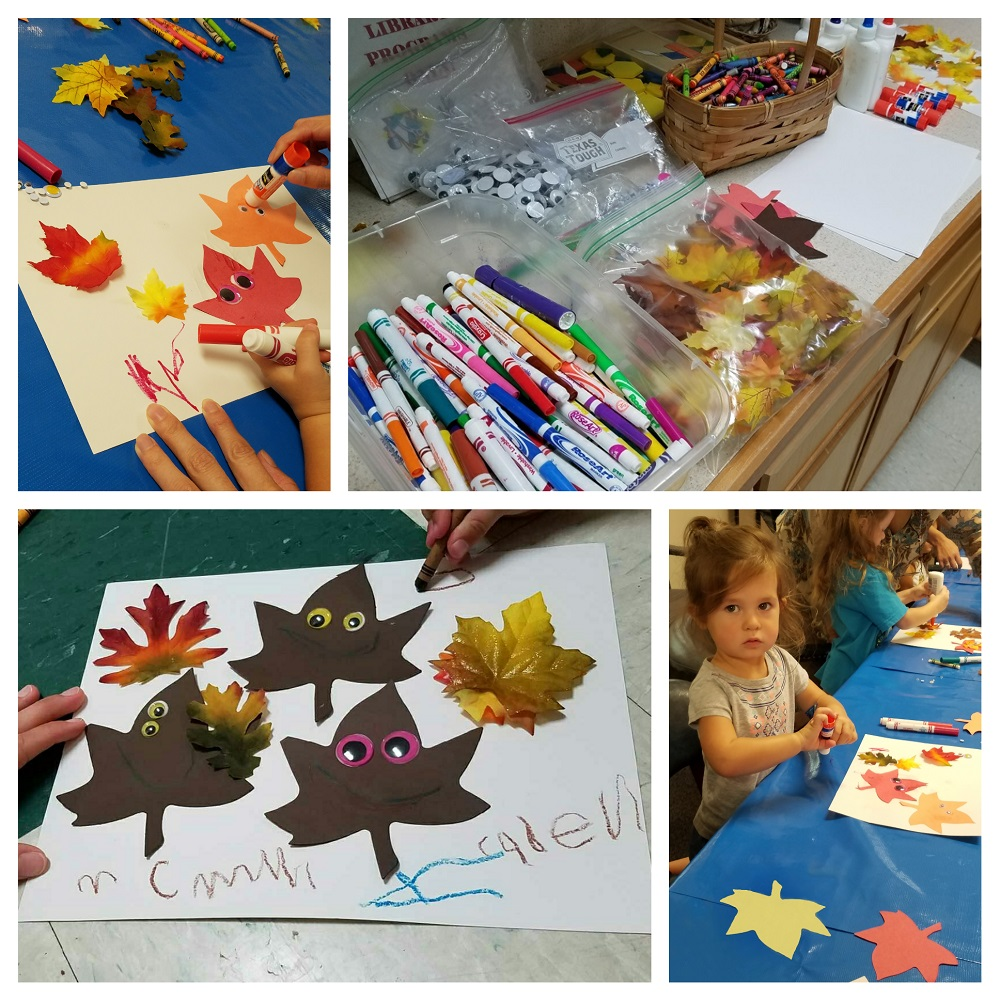 leaf people craft