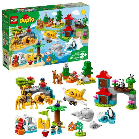 lego safari animals