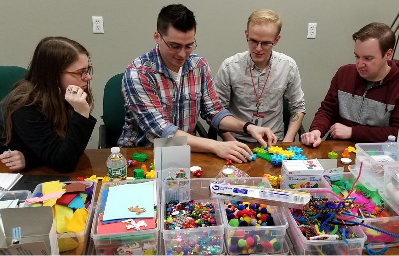lego team building activity