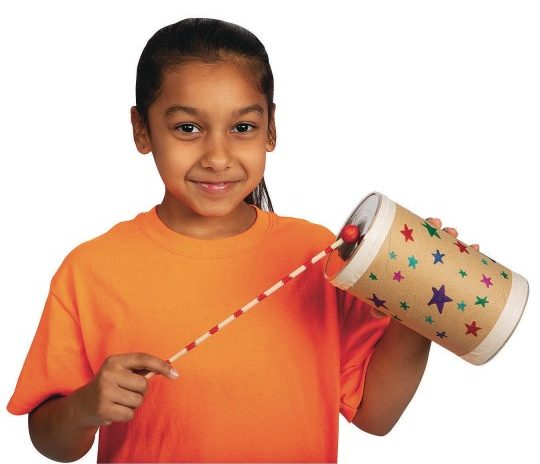 make a drum craft kit