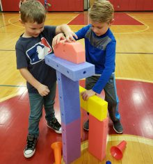 makerspace PE activity