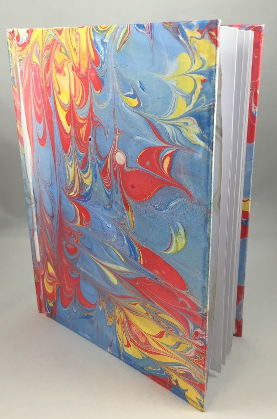 marbling a book