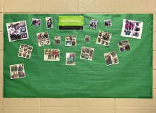 #matchitmonday bulletin board
