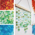 DIY Sea Glass Bead Suncatcher Craft