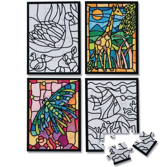 mini velvet art puzzles