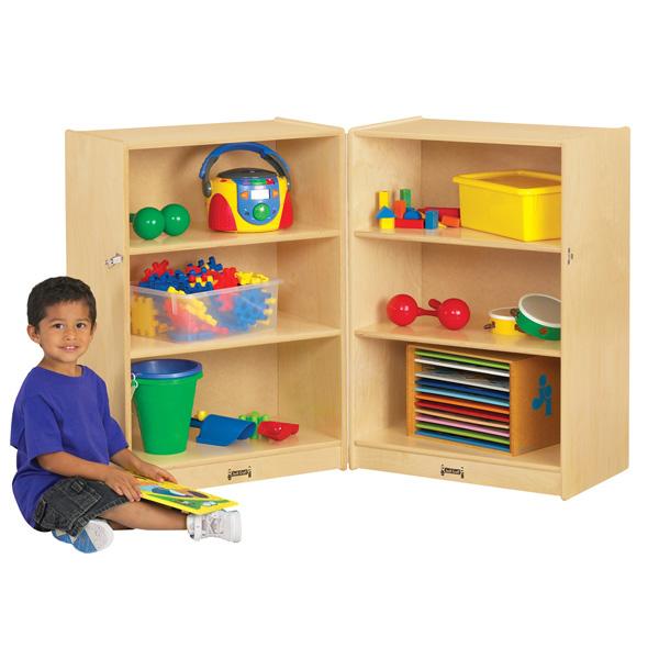 organized classroom storage