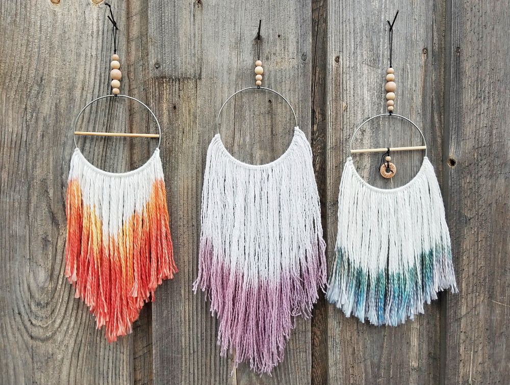 modern day DIY dream catcher