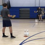 Modified Tennis Activity for PE
