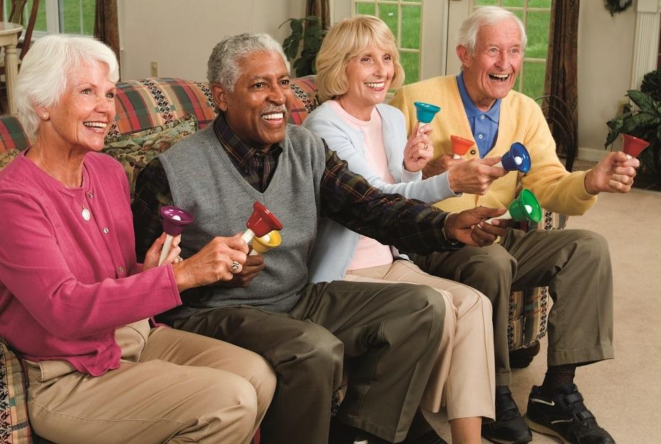 musical instruments for senior residents