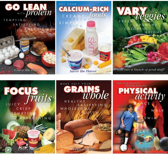 myplate poster pack