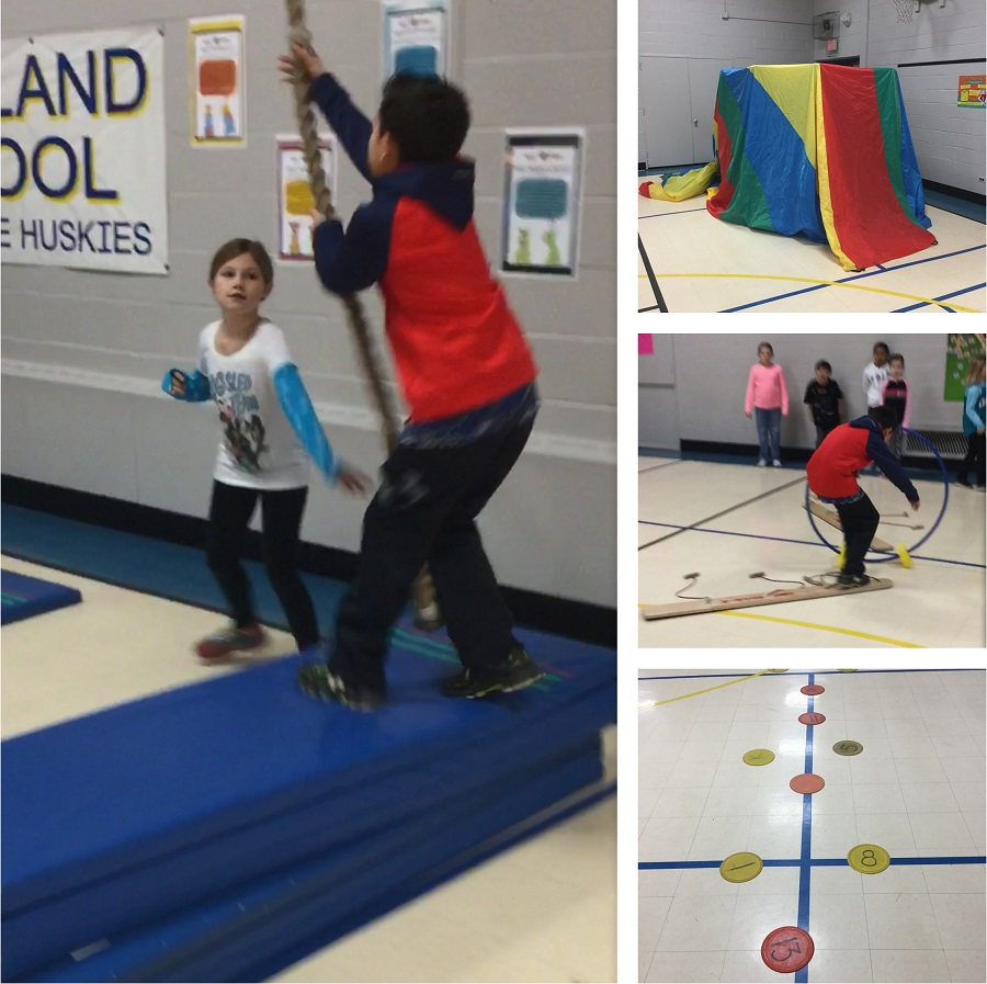 obstacle course PE