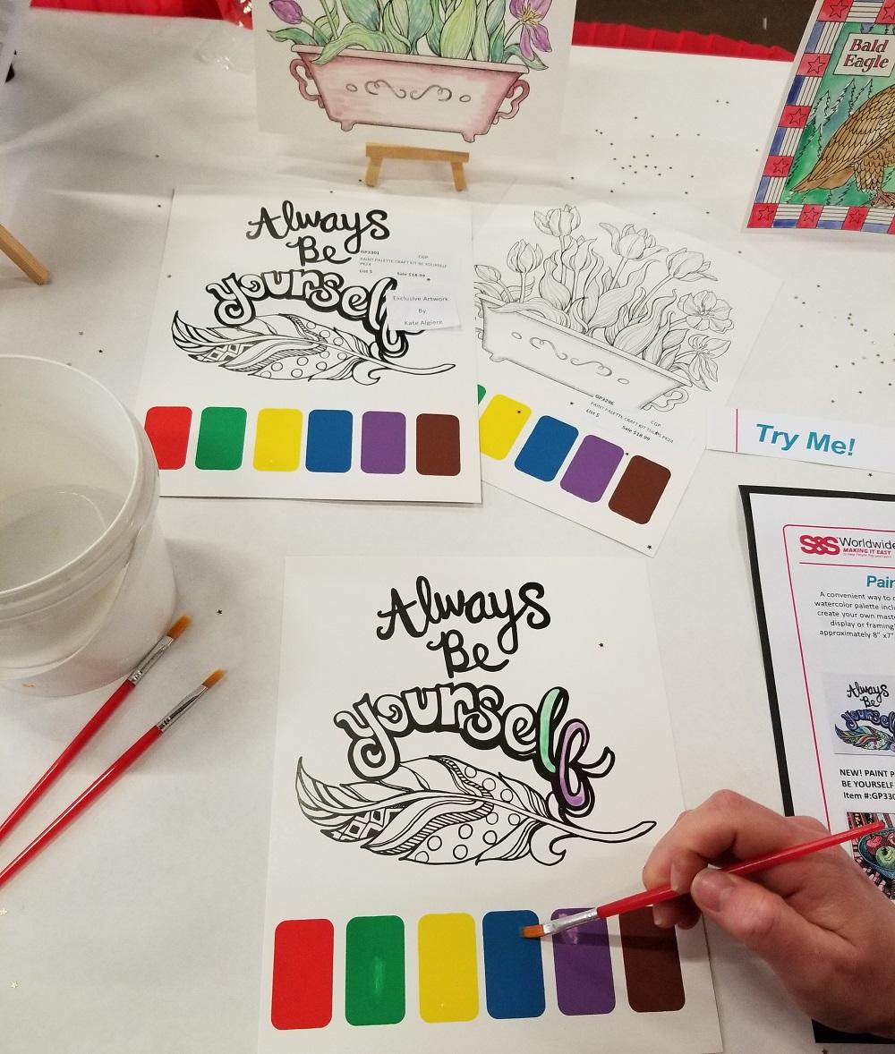 paint palette craft