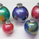 DIY Paint Swirl Ornament Activity