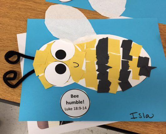 Paper Bee Craft - Preschool Church Lesson - S&S Blog