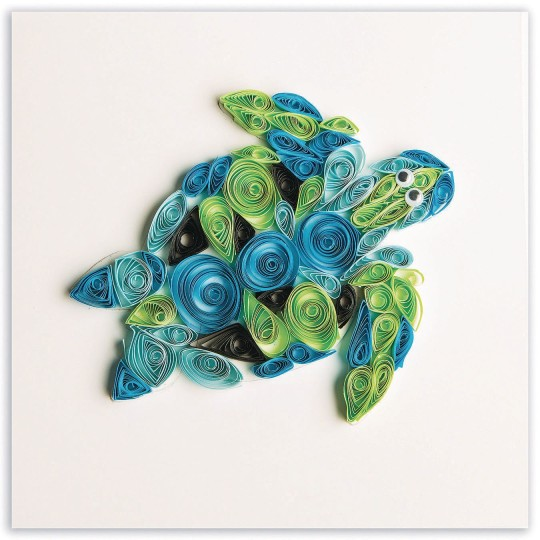paper quilling turtle