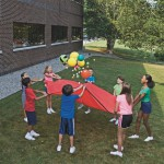 Parachute Games with a Ball
