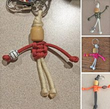 paracord sports figures craft