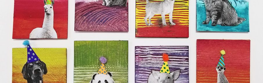 party animals craft activity