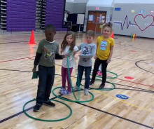 pe activity teamwork