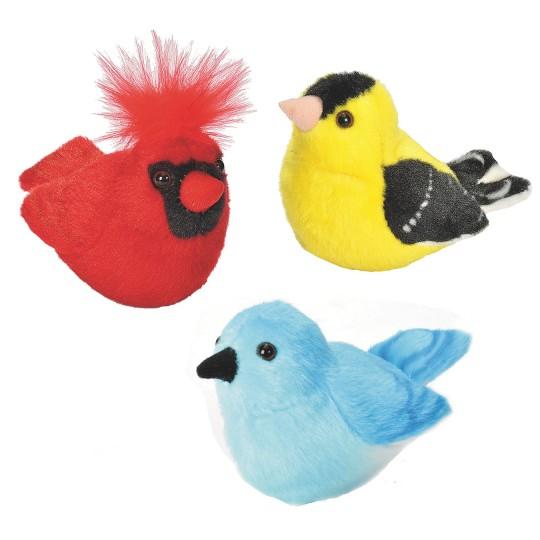 plush birds