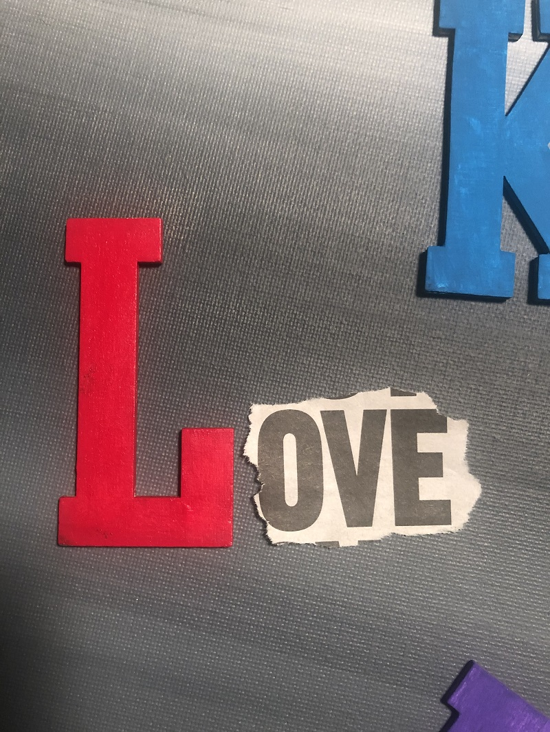 power of words love