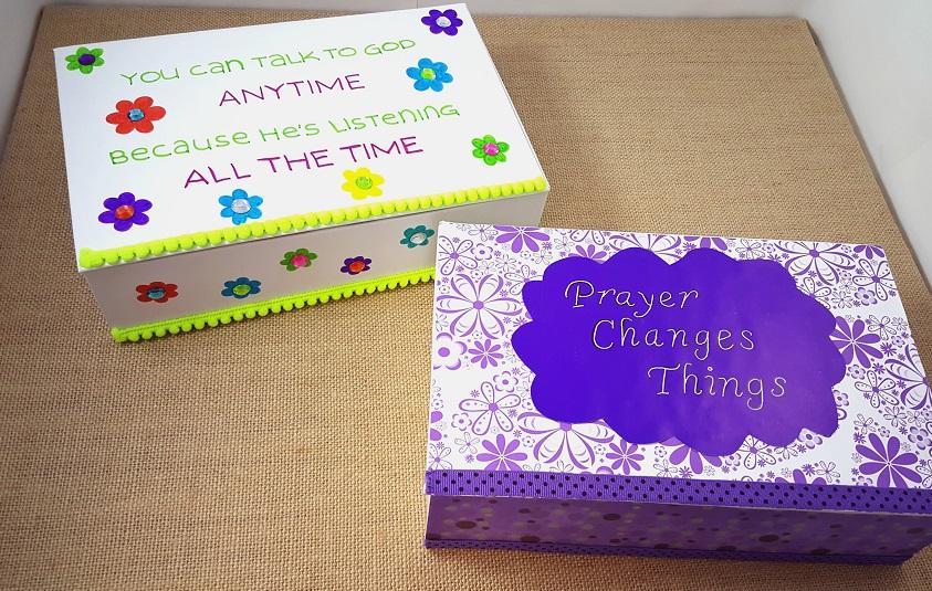 prayer box craft