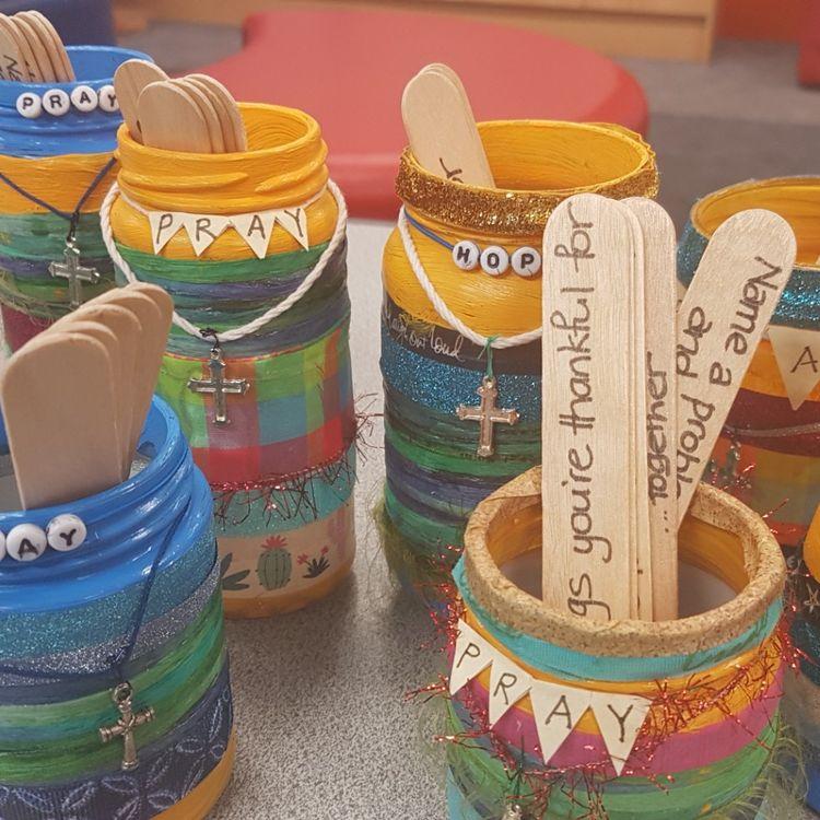 prayer jar pinterest