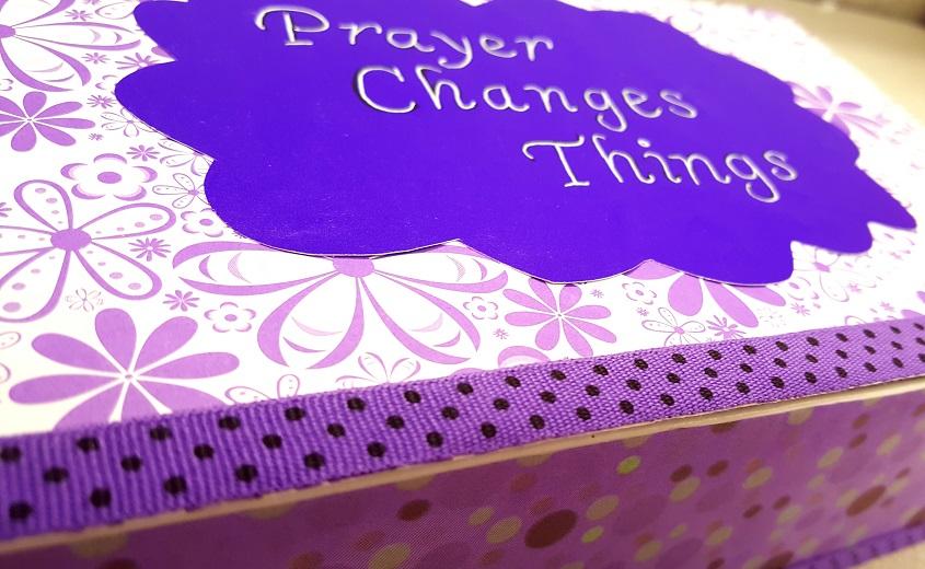 purple prayer box