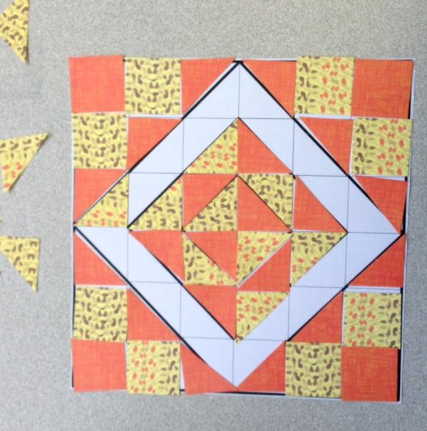 quilt mosaic craft activity