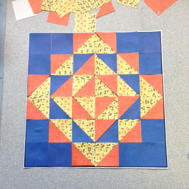 quilt mosaic craft