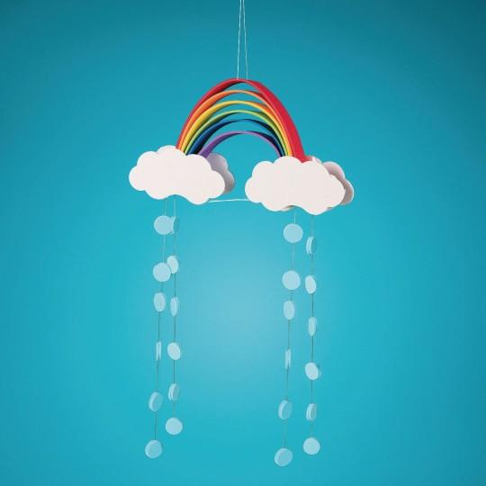 rainbow foam mobil