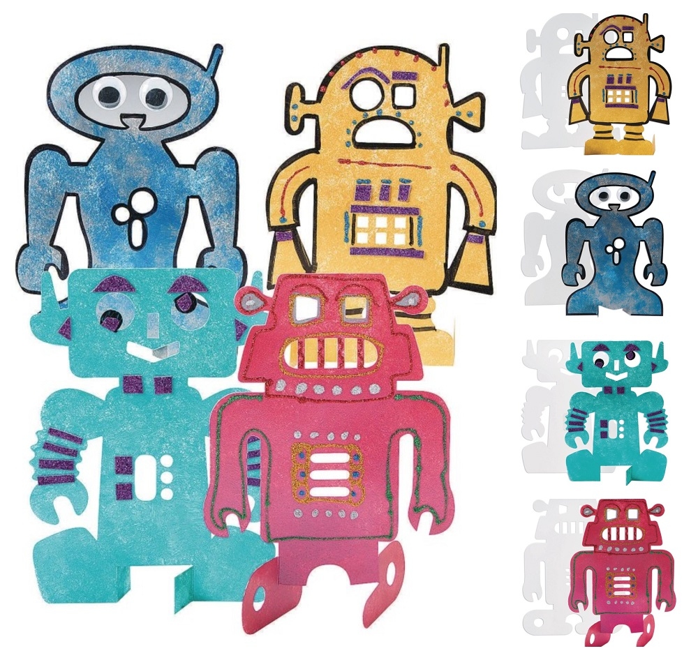 robot crafts