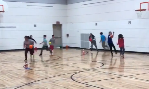 roller ball activity PE